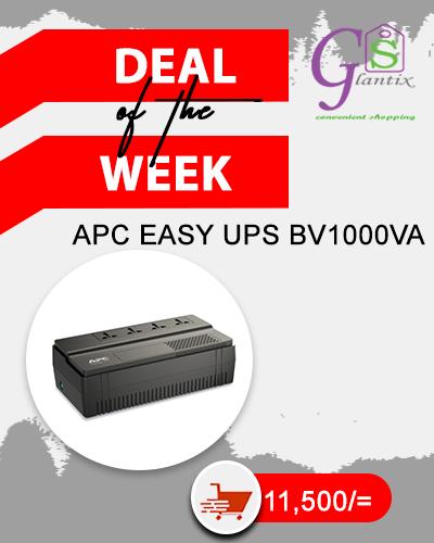 APC Easy UPS BV 1000VA AVR Universal Outlet 230V BV1000i-MSX